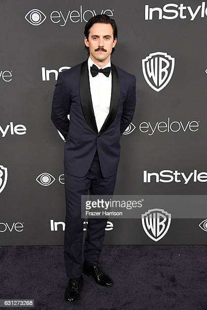 Actor Milo Ventimiglia attends the 18th Annual Post-Golden Globes Party hosted by Warner Bros. Pictures and InStyle at The Beverly Hilton Hotel on...