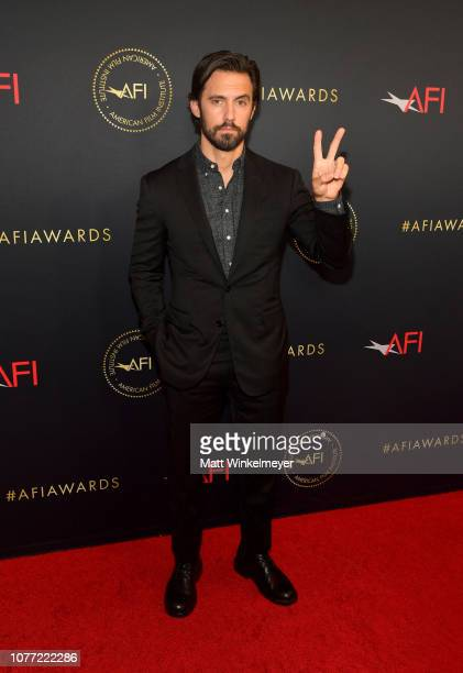 Actor Milo Ventimiglia attends the 19th Annual AFI Awards at Four Seasons Hotel Los Angeles at Beverly Hills on January 4 2019 in Los Angeles...