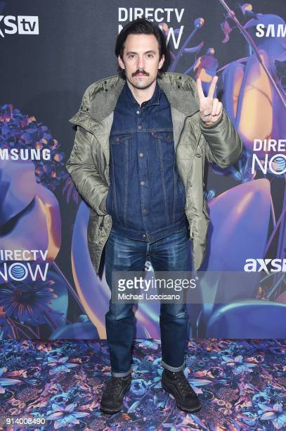 Actor Milo Ventimiglia attends the 2018 DIRECTV NOW Super Saturday Night Concert at NOMADIC LIVE at The Armory on February 3 2018 in Minneapolis...