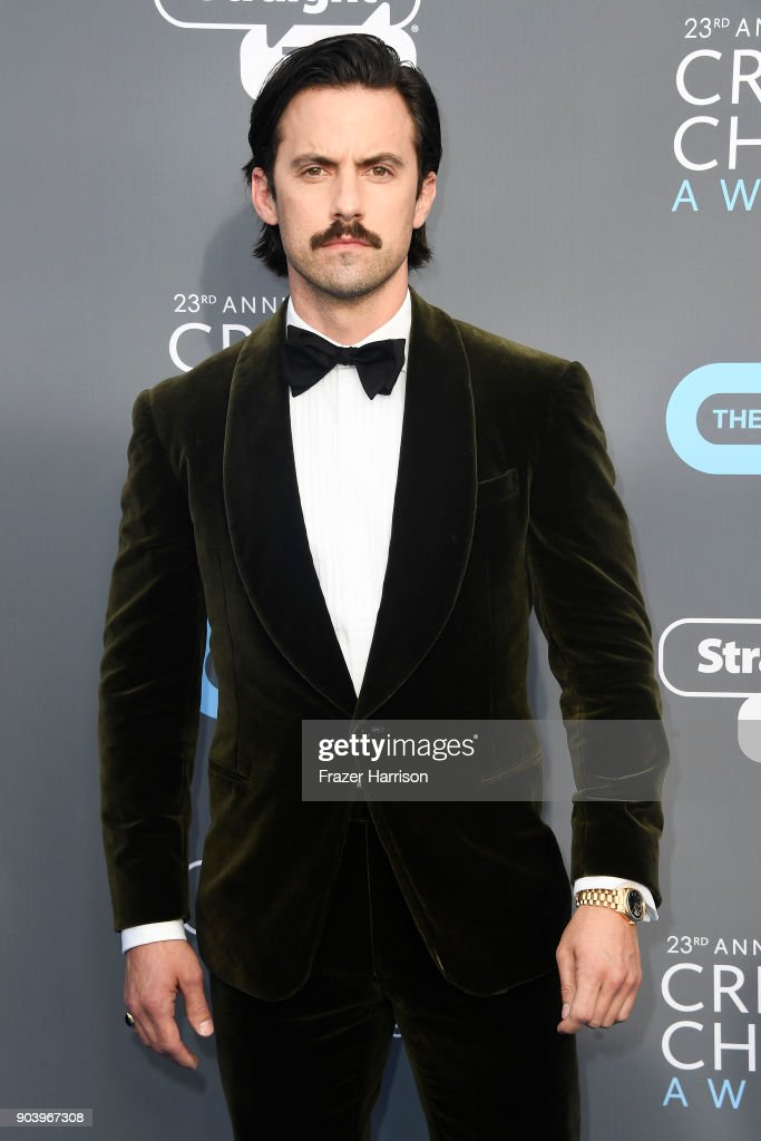 Actor Milo Ventimiglia attends The 23rd Annual Critics' Choice Awards at Barker Hangar on January 11, 2018 in Santa Monica, California.