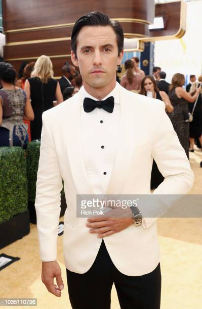 Actor Milo Ventimiglia attends the 70th Annual Primetime Emmy Awards at Microsoft Theater on September 17 2018 in Los Angeles California