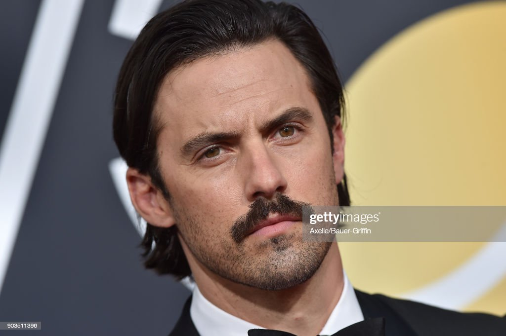 Actor Milo Ventimiglia attends the 75th Annual Golden Globe Awards at The Beverly Hilton Hotel on January 7, 2018 in Beverly Hills, California.