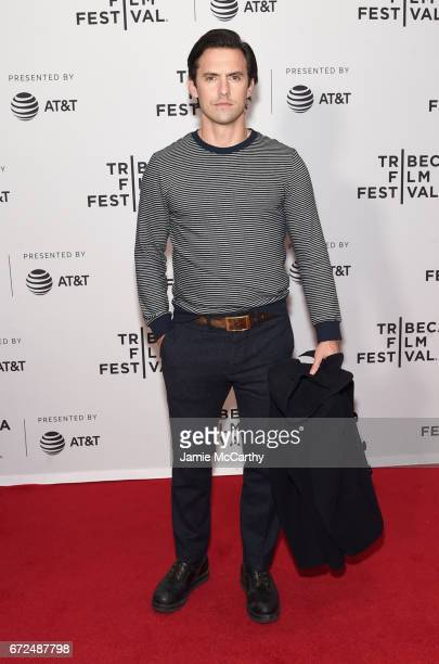 Actor Milo Ventimiglia attends the 'Devil's Gate' Premiere during the 2017 Tribeca Film Festival at Cinepolis Chelsea on April 24 2017 in New York...
