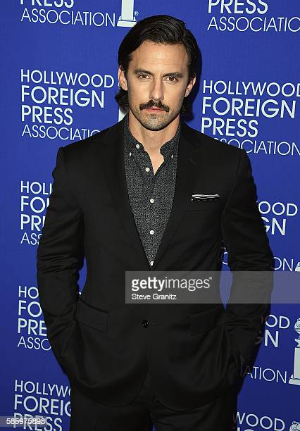 Actor Milo Ventimiglia attends the Hollywood Foreign Press Association's Grants Banquet at the Beverly Wilshire Four Seasons Hotel on August 4 2016...