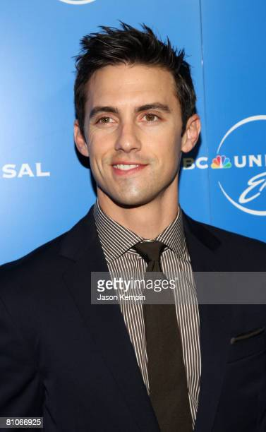 Actor Milo Ventimiglia attends the NBC Universal Experience at Rockefeller Center on May 12 2008 in New York City
