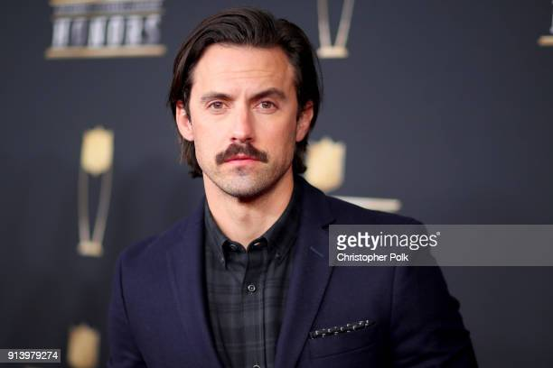 Actor Milo Ventimiglia attends the NFL Honors at University of Minnesota on February 3 2018 in Minneapolis Minnesota