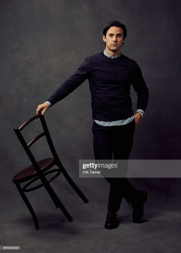 Actor Milo Ventimiglia from 'Devil's Gate' poses at the 2017 Tribeca Film Festival portrait studio on on April 24, 2017 in New York City.