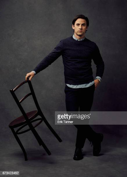 Actor Milo Ventimiglia from 'Devil's Gate' poses at the 2017 Tribeca Film Festival portrait studio on on April 24 2017 in New York City