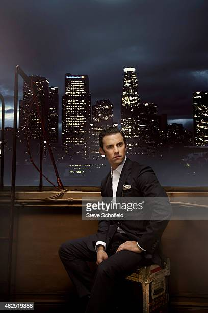 Actor Milo Ventimiglia is photographed for Emmy magazine on November 21 2013 in Los Angeles United States
