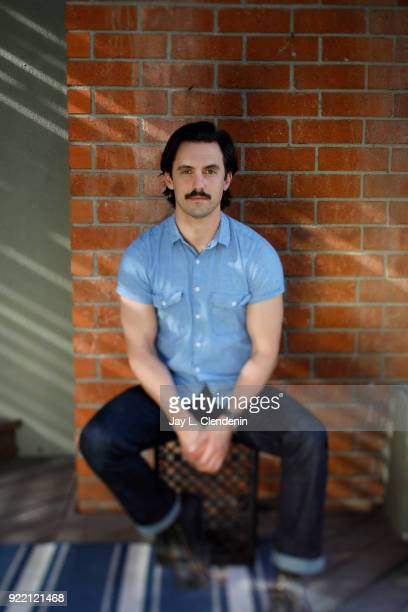 Actor Milo Ventimiglia is photographed for Los Angeles Times on February 1 2018 in Los Angeles California PUBLISHED IMAGE CREDIT MUST READ Jay L...