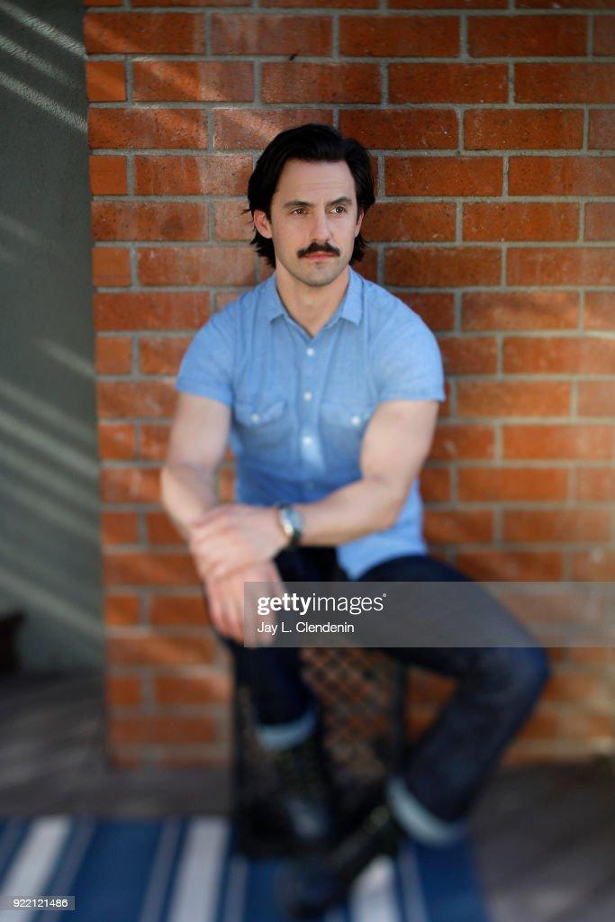 Milo Ventimiglia, Los Angeles Times, February 6, 2018 : News Photo