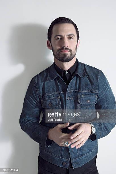 Actor Milo Ventimiglia is photographed for TV Guide Magazine on January 14 2015 in Pasadena California