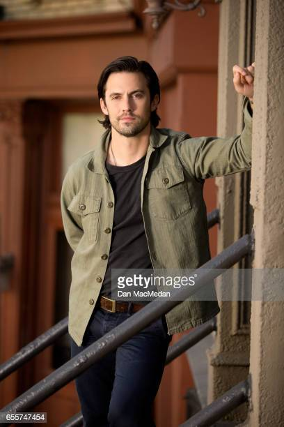 Actor Milo Ventimiglia is photographed for USA Today on March 8 2017 on the 20th Century Fox movie lot in Los Angeles California PUBLISHED IMAGE