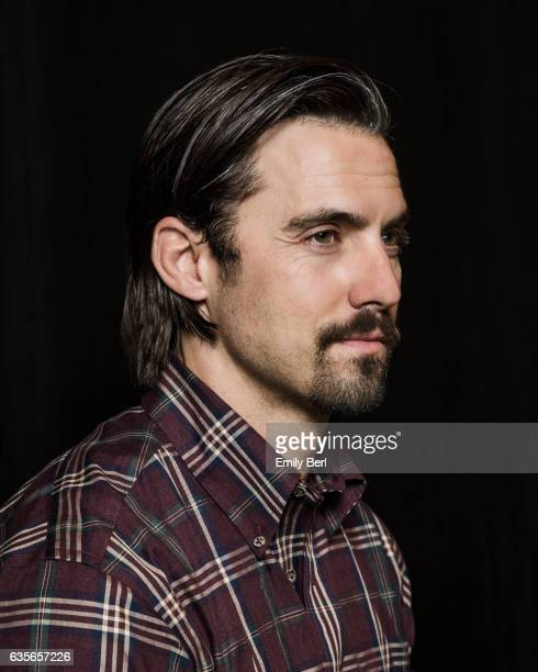 Actor Milo Ventimiglia is photographed on the set of NBC's 'This Is Us' for New York Times on February 3 2017 in Los Angeles California