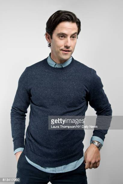 Actor Milo Ventimiglia photographed for NY Daily News on April 24 in New York City