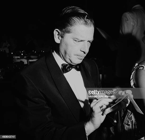 Actor Milton Berle attends a party in Los Angeles, California.