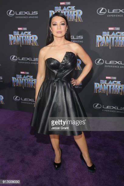 Actor MingNa Wen at the Los Angeles World Premiere of Marvel Studios' BLACK PANTHER at Dolby Theatre on January 29 2018 in Hollywood California