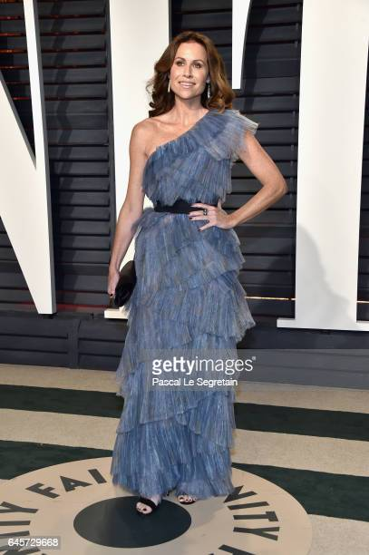 Actor Minnie Driver attends the 2017 Vanity Fair Oscar Party hosted by Graydon Carter at Wallis Annenberg Center for the Performing Arts on February...