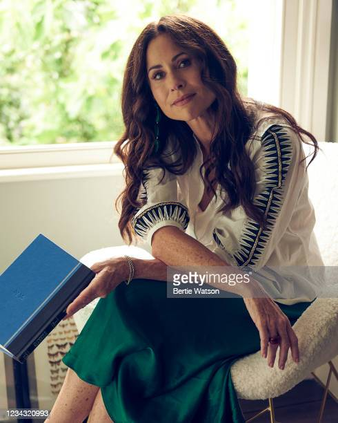 Actor Minnie Driver is photographed for the Wall Street Journal on June 14, 2021 in London, England.