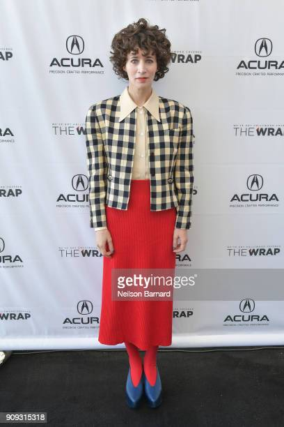 Actor Miranda July of 'Madeline's Madeline' attends the Acura Studio at Sundance Film Festival 2018 on January 23 2018 in Park City Utah