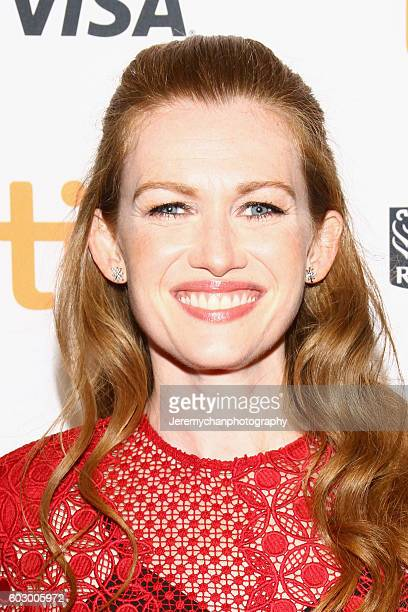 Actor Mireille Enos attends the Katie Says Goodbye premiere held at TIFF Bell Lightbox during the Toronto International Film Festival on September 11...