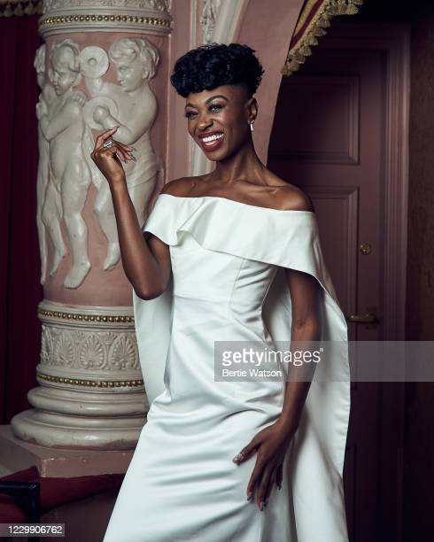 Actor Miriam-Teak Lee is photographed on October 14, 2020 in London, England.