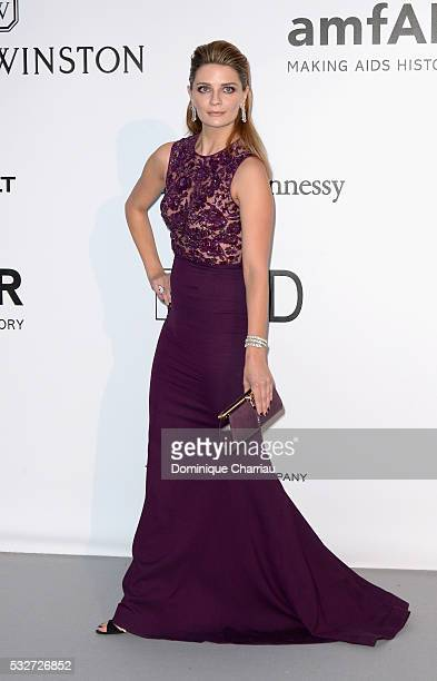 Actor Mischa Barton attends the amfAR's 23rd Cinema Against AIDS Gala at Hotel du CapEdenRoc on May 19 2016 in Cap d'Antibes France