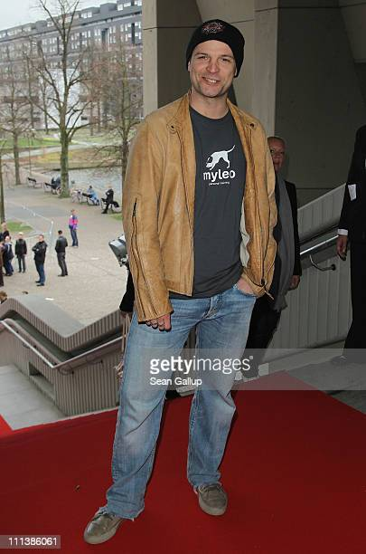 Actor Misel Maticevic attends the Grimme Award 2011 on April 1 2011 in Marl Germany