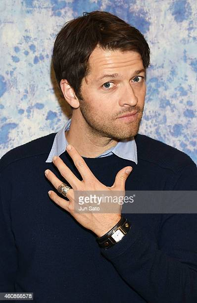 Actor Misha Collins attends the 5th Annual Hollywood Collectors' Convention on December 28 2014 in Tokyo Japan