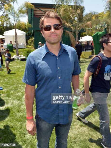 Actor Misha Collins attends the Children Mending Hearts 6th Annual Fundraiser 'Empathy Rocks A Spring Into Summer Bash' at a private residence on...