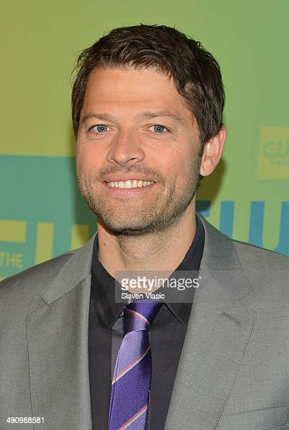 Actor Misha Collins attends the CW Network's New York 2014 Upfront Presentation at The London Hotel on May 15 2014 in New York City