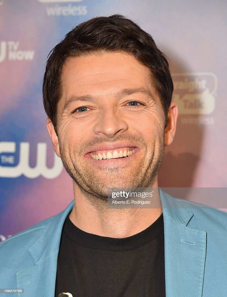 Actor Misha Collins attends the CW's Fan Party to Celebrate the 200th episode of 'Supernatural' on November 3, 2014 in Los Angeles, California.