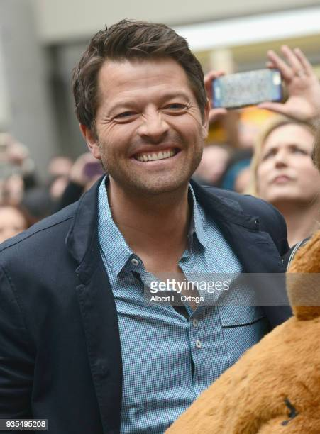Actor Misha Collins attends The Paley Center For Media's 35th Annual PaleyFest Los Angeles 'Supernatural' held at Dolby Theatre on March 20 2018 in...