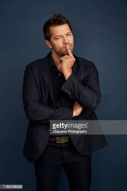 Actor Misha Collins of The CW's 'Supernatural' poses for a portrait during the 2019 Summer TCA Portrait Studio at The Beverly Hilton Hotel on August...