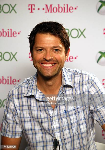 Actor Misha Collins visits Xbox One at ComicCon 2013 at the Hard Rock Hotel San Diego on July 20 2013 in San Diego California