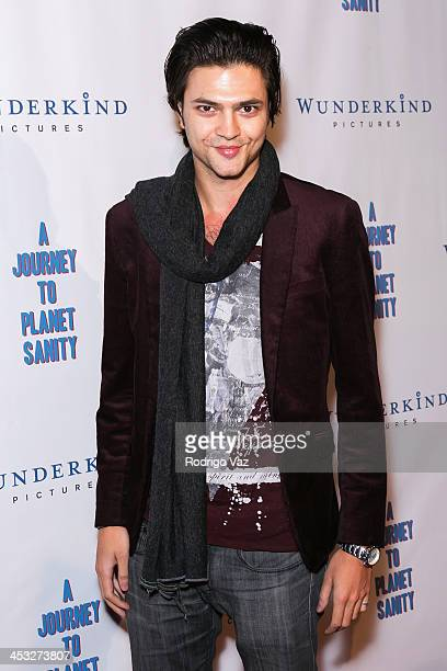 Actor Misha Crosby attends 'A Journey To Planet Sanity' Los Angeles Premiere at Laemmle Monica 4Plex on December 2 2013 in Santa Monica California