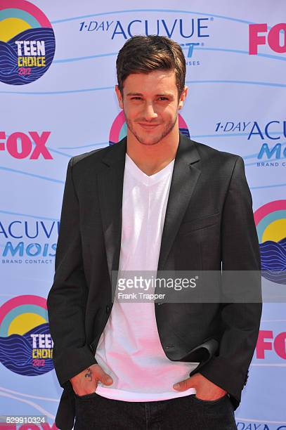 Actor Misha Gabriel arrives at the 2012 Teen Choice Awards held at the Gibson Amphitheatre in Universal City California
