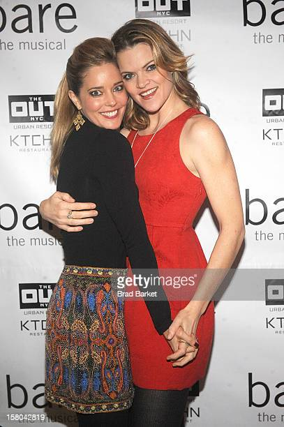 Actor Missi Pyle and Christina Moore attend BARE The Musical Opening Night After Party at Out Hotel on December 9 2012 in New York City