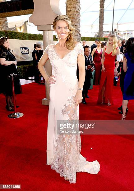 Actor Missi Pyle attends the 23rd Annual Screen Actors Guild Awards at The Shrine Expo Hall on January 29 2017 in Los Angeles California