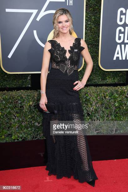 Actor Missi Pyle attends The 75th Annual Golden Globe Awards at The Beverly Hilton Hotel on January 7 2018 in Beverly Hills California