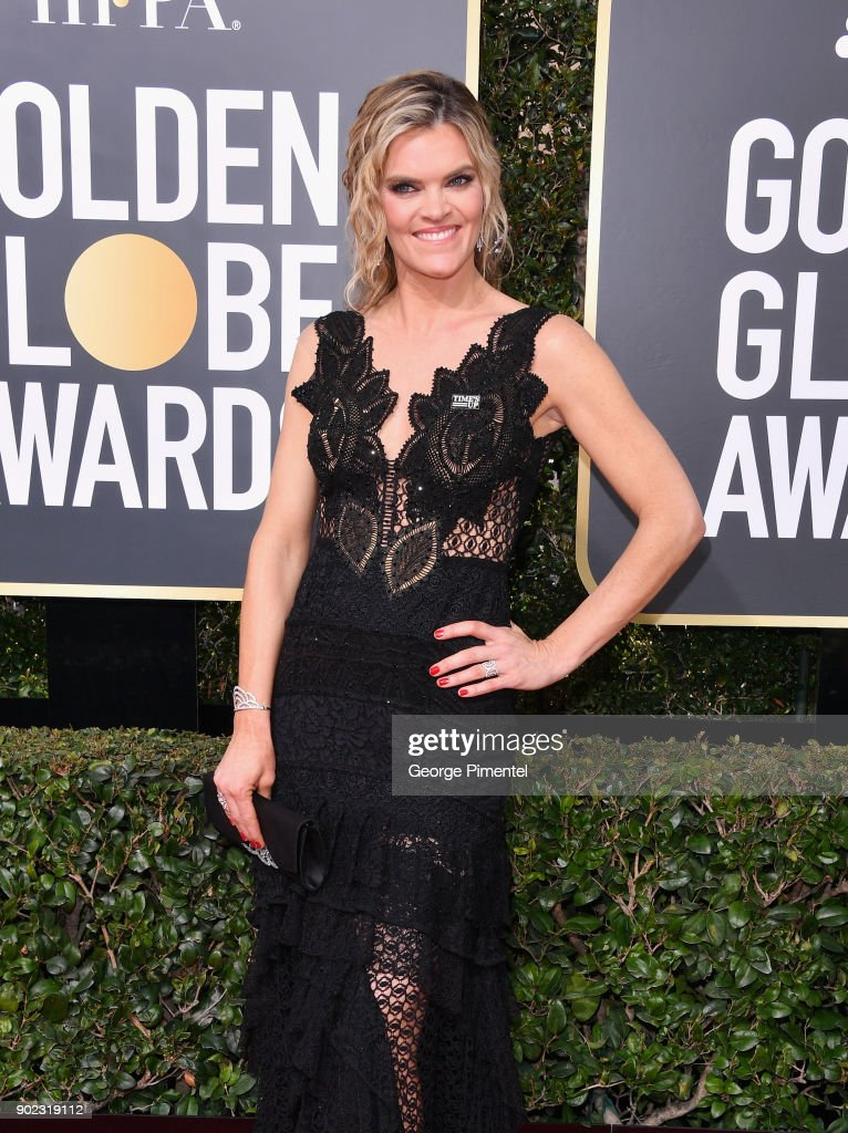 Actor Missi Pyle attends The 75th Annual Golden Globe Awards at The Beverly Hilton Hotel on January 7, 2018 in Beverly Hills, California.