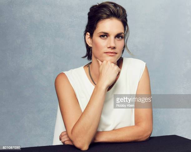 Actor Missy Peregrym from Syfy's 'Van Helsing' poses for a portrait during ComicCon 2017 at Hard Rock Hotel San Diego on July 20 2017 in San Diego...