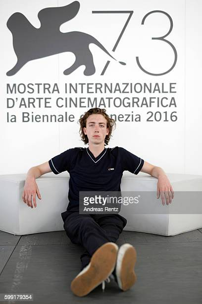 Actor Mistral Guidotti of film 'Home' poses for portrait during the 73rd Venice Film Festival on September 4 2016 in Venice Italy