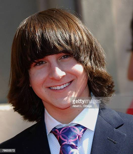 Actor Mitchel Musso attends the 59th Annual Primetime Creative Arts Emmys at the Shrine Auditorium in Los Angeles, California.