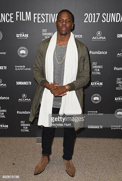 Actor Mitchell Edwards attends the Burning Sands Premiere at Eccles Center Theatre on January 24 2017 in Park City Utah