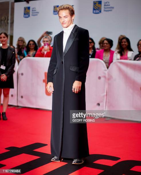 US actor Mitchell Hoog arrives for the Harriet premiere during the 2019 Toronto International Film Festival at Roy Thomson Hall on September 10 2019...