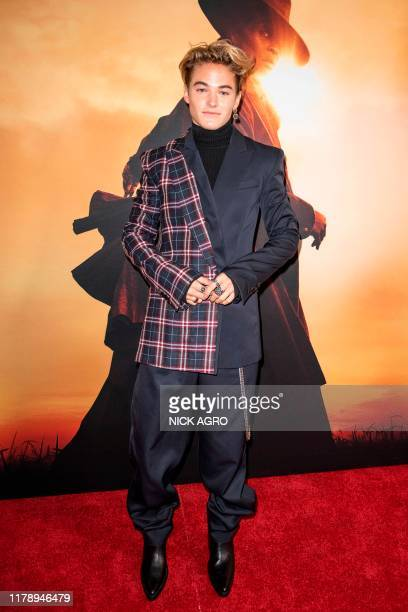 US actor Mitchell Hoog arrives for the premiere of Focus Features' Harriet in Los Angeles on October 29 2019