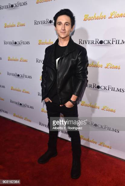 Actor Mitchell Musso attends the premiere of RiverRock Films' 'Bachelor Lions' at The ArcLight Hollywood on January 9 2018 in Hollywood California