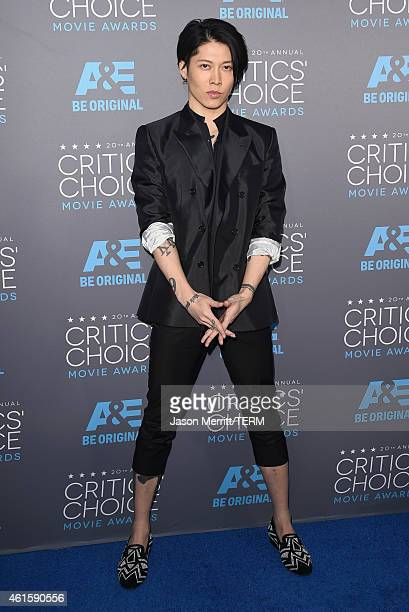 Actor Miyavi attends the 20th annual Critics' Choice Movie Awards at the Hollywood Palladium on January 15 2015 in Los Angeles California