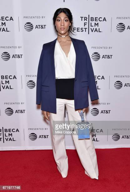 Actor MJ Rodriguez attends the 'Saturday Church' Premiere during the 2017 Tribeca Film Festival at Cinepolis Chelsea on April 23 2017 in New York City